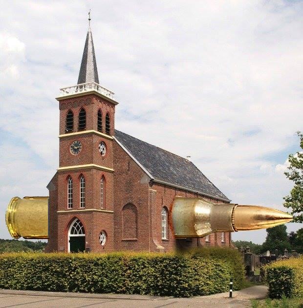 kogel door kerk