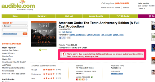 American Gods The Tenth Anniversary Edition  A Full Cast Production Audio Book | Neil Gaiman | Download American Gods The Tenth Anniversary Edition  A Full Cast Production