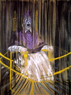 Bacon, Study After Velazquez's Portrait of Pope Innocent X 1953