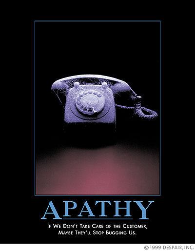 Despair poster - apathy